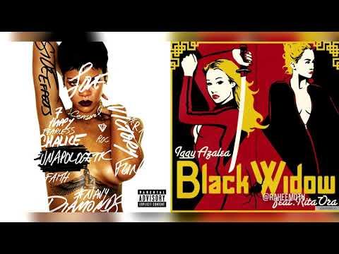 Rihanna x Iggy Azalea - Jump Black Widow (Mashup) (Feat Rita Ora)