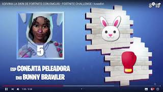 ADIVINA LA SKIN DE FORTNITE WITH FORTNITE CHALLENGE tuadivi Youadivi YouTube Mozilla Firefox 1