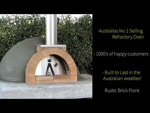 Sydney fire bricks Brick & Precast Wood fired Pizza oven range 2019