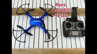 Potensic F181WH-FPV Drone Drohne im Test | 2MP Cam Wifi Steuerung Control Live Monitor