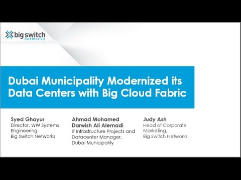 [Webinar] Dubai Municipality Modernized its Data Centers with Big Cloud Fabric