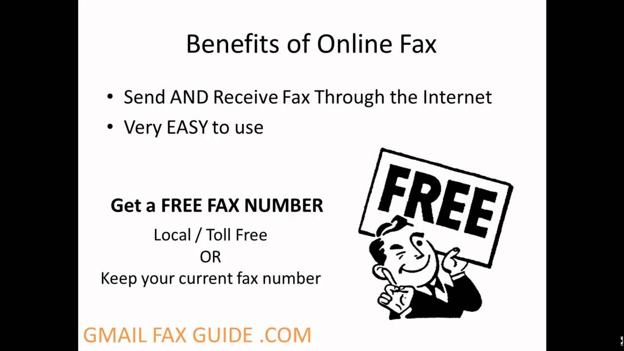 how to fax from your gmail with google fax youtube