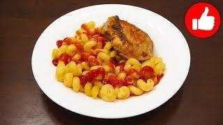 макароны с курицей в мультиварке  Просто, вкусно  HD 1