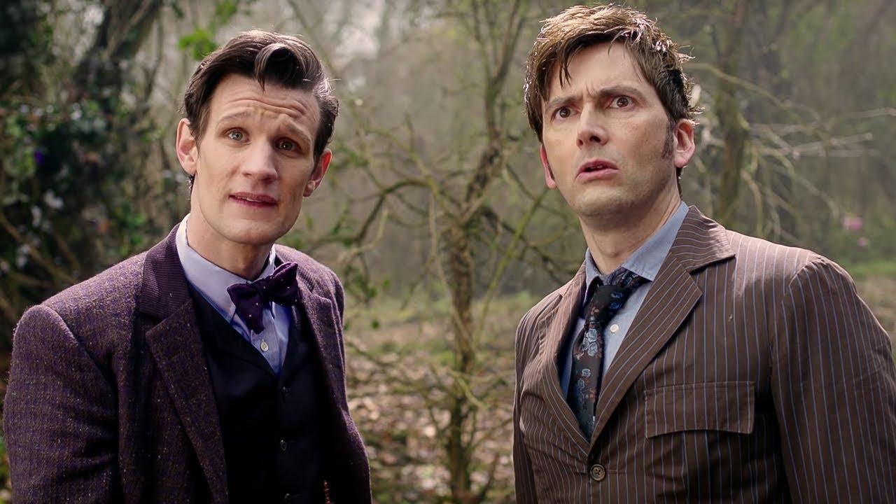 Download Le onzième Docteur rencontre le dixième Docteur | Le jour du Docteur | Doctor Who