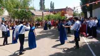 Последний звонок в МКОУ СОШ№2 г. Хасавюрт 2014 год