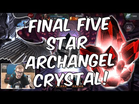 The Final Five Star Archangel Crystal Opening! - Marvel Contest of Champions