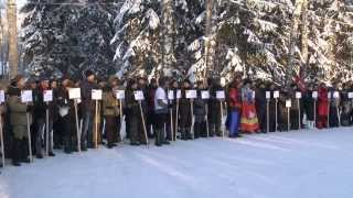1-й Чемпионат России по ловле на блесну со льда 2014