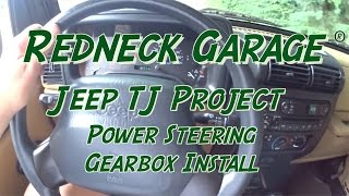 Jeep Wrangler TJ Project - Replacing Steering Gearbox