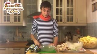 Жаренная картошка с грибами - 5 секретов