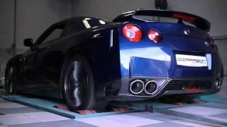 Reprogrammation moteur et ligne complète - Stage 2 - Nissan GTR-35 2011