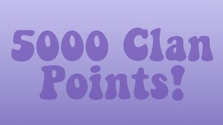 5000 Clan Points! ~ ROBLOX Assassin