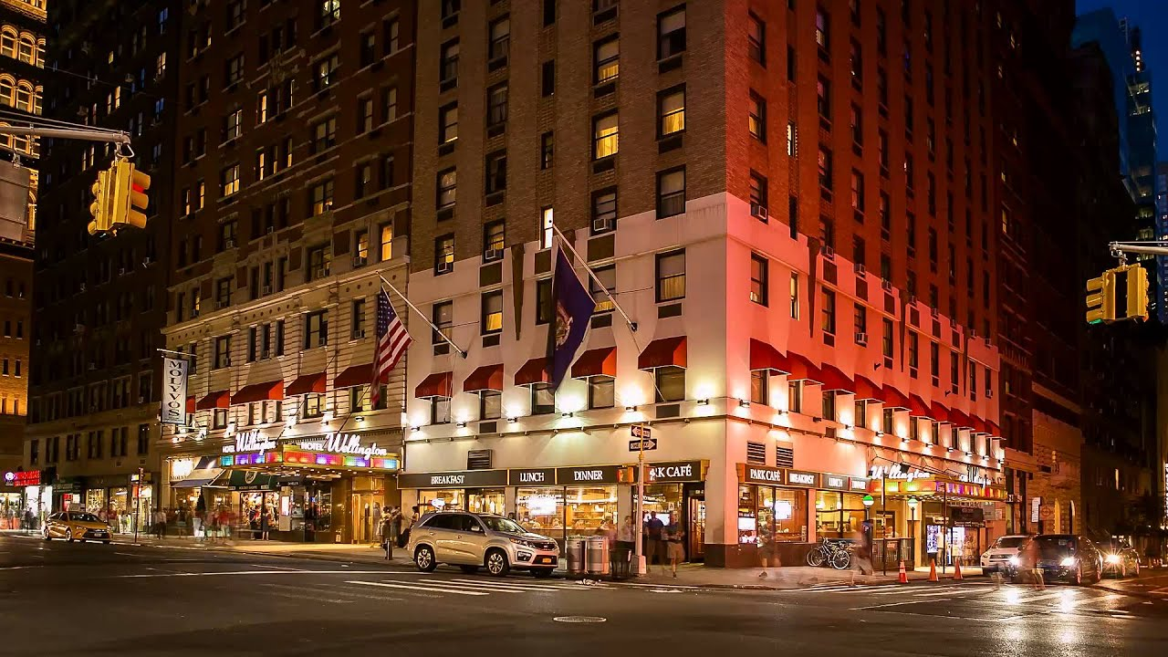 Wellington Hotel New York New York
