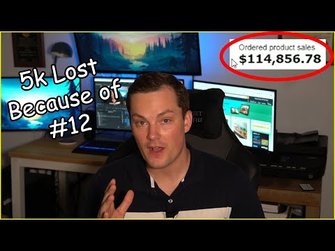 Amazon FBA- Top 12 Mistakes of New Amazon Sellers thumbnail