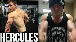 Revealing Vegan Hercules | 24 Days Out Physique Check