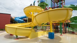 CoCo Key Water Resort - Yellow Parrot's Perch Slide | Kids' Slide Onride POV