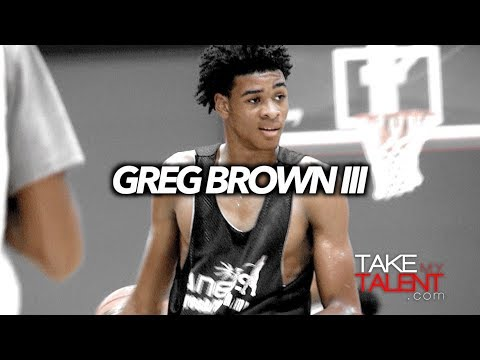 Greg Brown III - 2017 Pangos All-South Frosh/Soph Camp