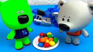 Ми-ми-мишки мультики с игрушками Истории игрушек для детей Toys for kids