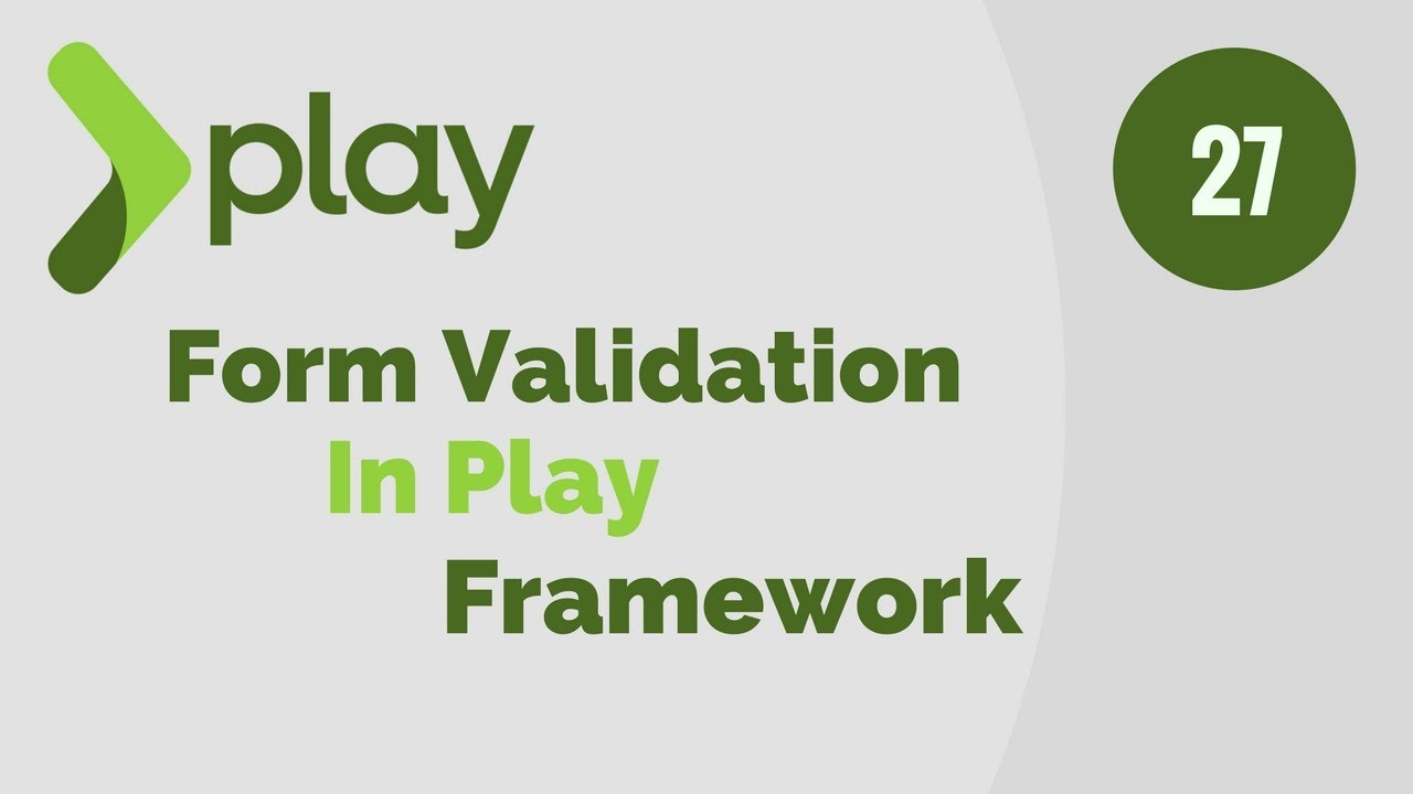 Play Framework Tutorial # 27 Form Validations in Play