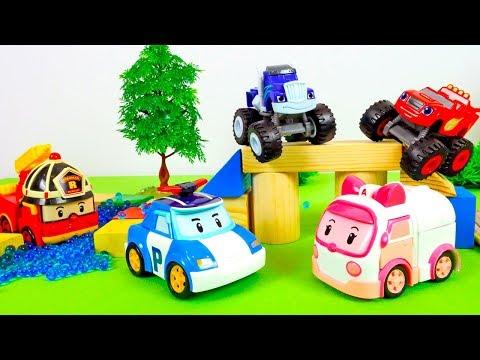 Видео, Машинки Вспыш и Робокар Поли. Видео для детей