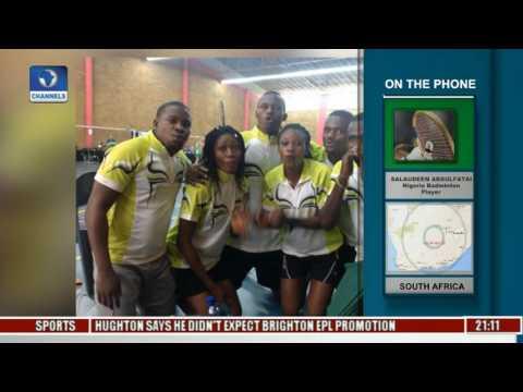 Sports Tonight: Examines Africa Badmington Championship