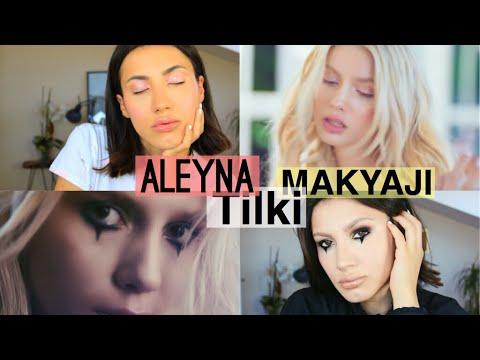 Aleyna Tilki Yalniz Cicek Klip Makyaji Youtube