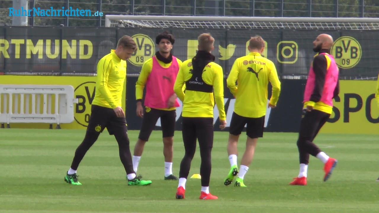 BVB-Training am Tag nach dem 2:2 in Bremen