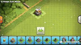 A funny base of Coc TH 5