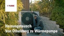 NIBE - Heizungstausch - Von Ölheizung zu Wärmepumpe