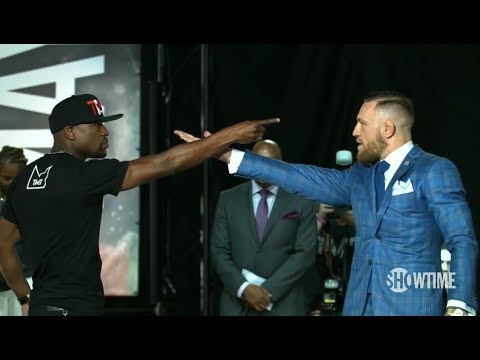 Thumbnail: Mayweather vs McGregor World Tour: All the Faceoffs