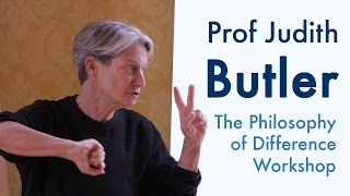 The Difference of Philosophy | Notes on Impressions & Responsiveness | Prof Judith Butler (2015)