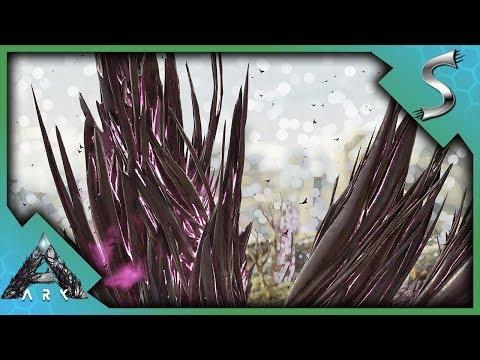 DEFENDING AN ELEMENT NODE AGAINST WAVES OF CORRUPTED DINOS! - Ark: Extinction [DLC Gameplay E12]
