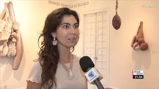 Casa de Cultura Laura Alvim exibe obras de Talitha Rossi, no Rio