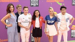 School of Rock Cast 2017 Kids' Choice Sports Awards Orange Carpet
