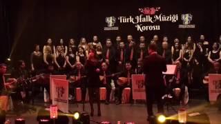 Merzifon Belediye Konservatuvarı Türk Halk Müziği Korosu Bahar Konseri