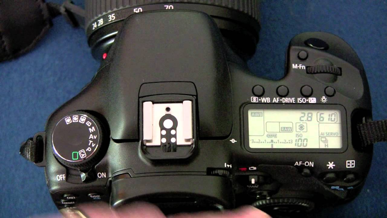 Canon 7D for Beginners Optimal Setup by Vitamirus