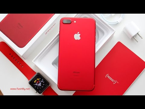 Thumbnail: แกะกล่อง iPhone 7 Plus (Product)Red Special Edition เครื่องศูนย์ประเทศไทย