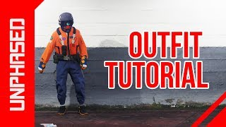 GTA 5 *OUTFIT TRANSFER* ORANGE & BLUE MODDED OUTFIT - GORKA JOGGERS & FLIGHT TOP TUTORIAL