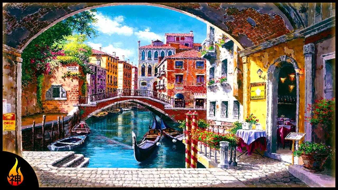 Italian Music | Beautiful Venice | Instrumental Venetian ...