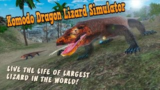 👍🏻🦎Komodo Dragon Lizard Simulator- By WonderAnimals Adventure - iTunes/Android