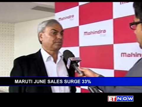 Auto Makers M&M And Maruti Suzuki Show Jump In Sales, Tata Motors Lags Behind