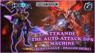 Grubby   Heroes of the Storm   Tyrande - Auto Attack DPS Machine - HL S3 - Dragon Shire