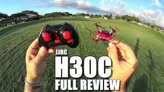 JJRC H30C Nano HD Camera Drone – Full Review – [Unboxing, Inspection, Flight Test, Pros & Cons]