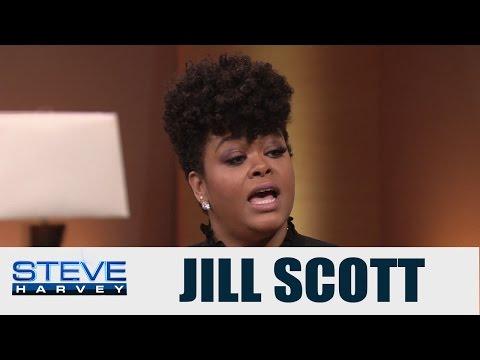 Jill Scott Talks About Being A Single Mom || STEVE HARVEY