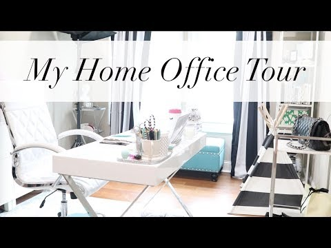My Home Office Tour + Office Styling Tips  | Workspace Wednesday