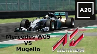Mercedes W05 al Mugello [Assetto Corsa - Gameplay ITA]
