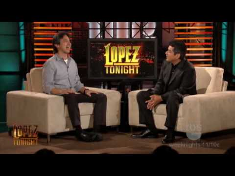 Lopez Tonight - Ray Romano Interview - [Men of a Certain Age] Part 1 of 2