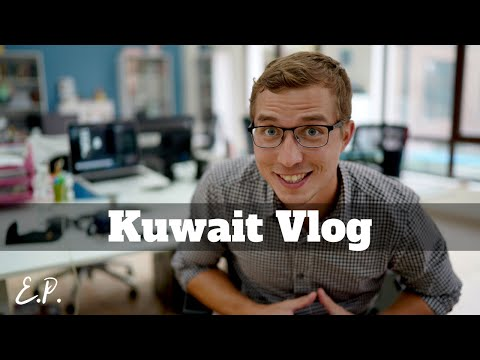 TRAVEL VLOG | Kuwait #11 -  New Job, New Office