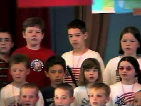 Woburn Street School Patriotic Program: 2002