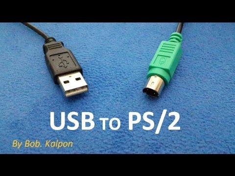 how to convert a mouse from usb to ps/2  como convertir un raton de usb a  ps2