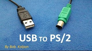 How to convert a mouse from USB to PS/2  -  como convertir un raton de usb a ps2